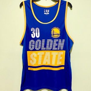 """GOLDEN STATE WARRIORS """"CURRY"""" TANK TOP SIZE L"""
